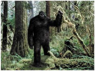 """Những lần """"chạm trán"""" kinh hoàng giữa người và quái vật Bigfoot"""