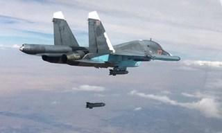 Phe đối lập do Mỹ hậu thuẫn ở Syria tố tiêm kích Nga ném bom không thương tiếc
