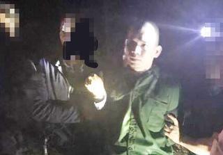 Tử tù Nguyễn Văn Tình khi bị bắt: