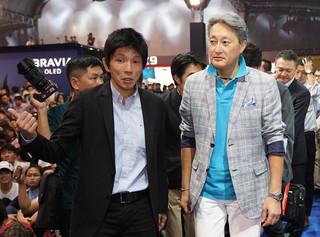 Chủ tịch tập đoàn Sony toàn cầu bất ngờ xuất hiện tại TP.HCM