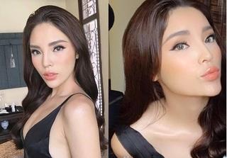Hoa hậu Kỳ Duyên môi sưng tều, gương mặt lại nhọn bất thường