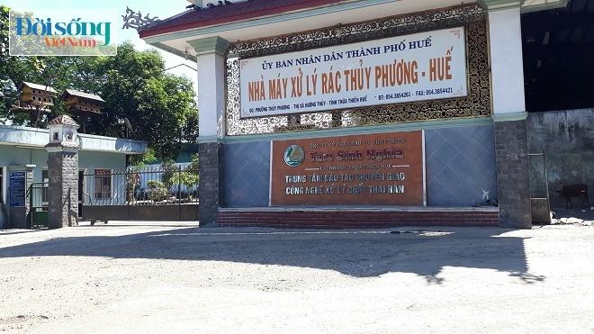 Ô nhiễm nhà máy rác ở Huế