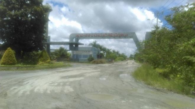 Ô nhiễm nhà máy rác ở Long An
