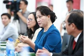 Chủ tịch Quốc hội thăm nhà máy sữa Vinamilk tại Bình Dương