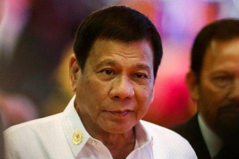Tổng thống Philippines rất cứng rắn với các vụ việc liên quan đến ma túy. Ảnh: AP