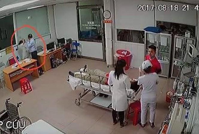 giám đốc hành hung bác sỹ tại bệnh viện Nghệ An