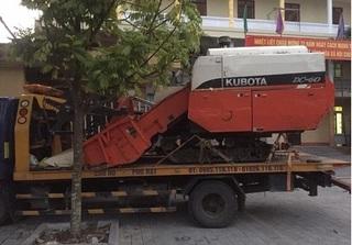 Vào Thanh Hóa trộm máy gặt mang về quê Hải Dương cất giấu