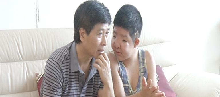 Quốc Tuấn và con trai