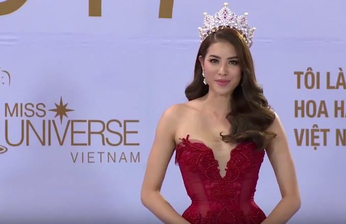 Phạm Hương làm host Hoa hậu hoàn vũ
