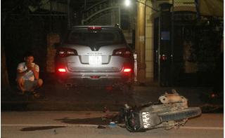 2 thanh niên nhập viện cấp cứu sau cú va chạm với xe của bí thư huyện