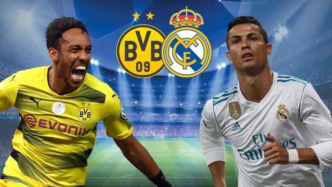 Kết quả bóng đá cúp C1 đêm qua giữa Real Madrid và Dortmund
