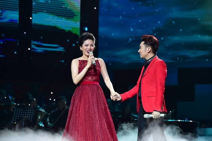 Nhiều nghệ sĩ tên tuổi được Quang Hà mời trong đêm liveshow