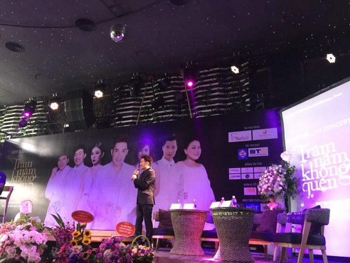 Quang Hà sẽ tổ chức liveshow Trăm năm không quên tại Hà Nội