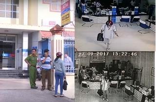 Cướp ngân hàng ở Vĩnh Long: Nghi phạm đã có sự tính toán kỹ lưỡng