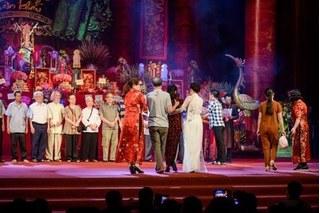 Hành động đẹp của Bảo Thanh tại Lễ Giỗ tổ nghề sân khấu