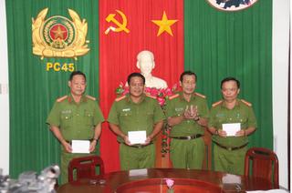 Cướp ngân hàng ở Vĩnh Long: 3 tập thể được khen thưởng vì phá nhanh vụ án