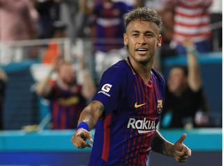 Tiền đạo Neymar