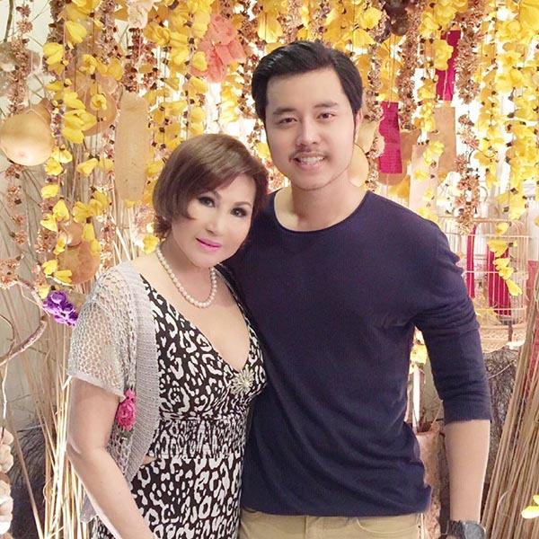 Vũ Hoàng Việt và bạn gái tỷ phú