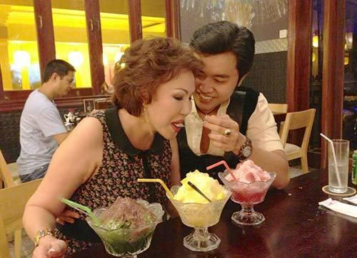 bạn gái tỷ phú và vũ hoàng Việt