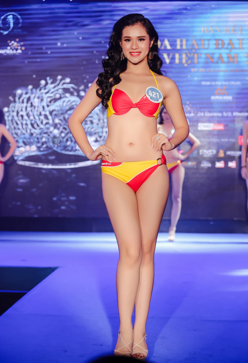 Hoa hậu Đại dương Việt Nam nóng bỏng với bikini