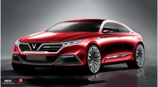 Mới công bố mẫu thiết kế ô tô Vinfast đã