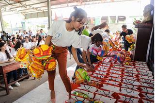 Hoa hậu Đại Dương mang Trung thu ấm áp đến với trẻ em nghèo