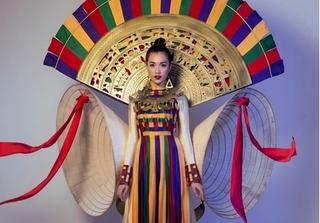 Lộ diện trang phục dân tộc chính thức cho đại diện Việt Nam tại Miss Universe 2017