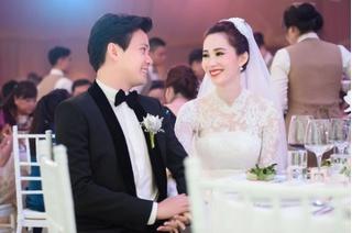 Hoa hậu Đặng Thu Thảo đẹp tựa cánh tường vi trắng mỏng manh rơi lệ trong tiệc cưới