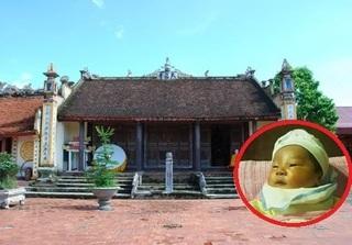 Hải Phòng: Bé gái sơ sinh bị bỏ rơi trước cửa chùa cùng lá thư
