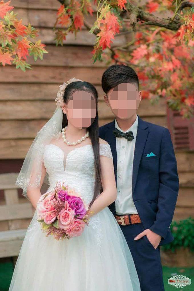 Cô dâu có hoàn cảnh gia đình rất khó khăn