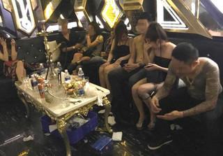 Đưa 82 nam nữ dương tính ma túy trong vụ thác loạn xuyên đêm ở quán karaoke đi cai nghiện