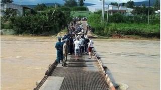 Thi thể bé trai bị cuốn trôi trên sông Đa Nhim đã được tìm thấy