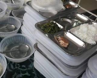 Bữa ăn 19 nghìn chỉ có rau và một miếng cá tại Thanh Hóa: Không có dấu hiệu bớt xén