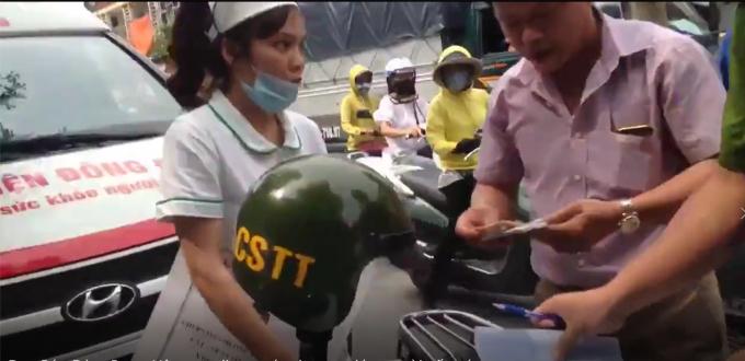Sự thật việc xử phạt xe cứu thương chở bệnh nhân ở Hà Nội