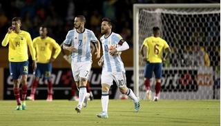 Trận đấu Argentina vs Ecuador: World Cup 2018 chào đón