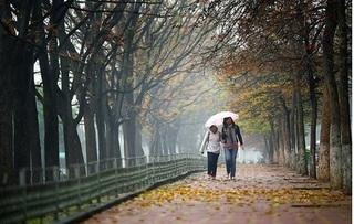 Thời tiết Hà Nội hôm nay 13/10: Có mưa, trời se lạnh