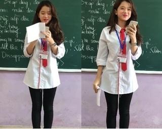 Linh Ka lần đầu khoe giọng hát thật trước lớp với ca khúc