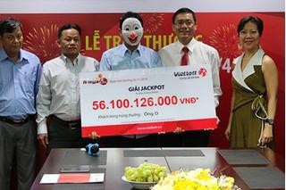 Kết quả xổ số Vietlott hôm nay 14/10: Giải Jackpot đã lên tới gần 70 tỷ đồng