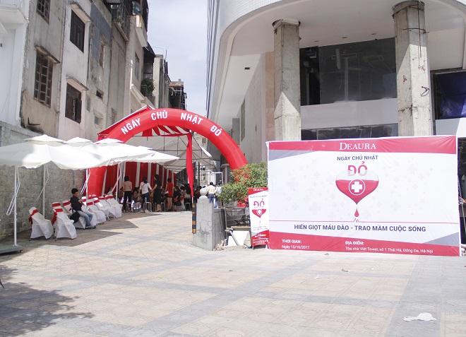 Công ty DeAura tham gia hiến máu cứu người ngày chủ nhật đỏ