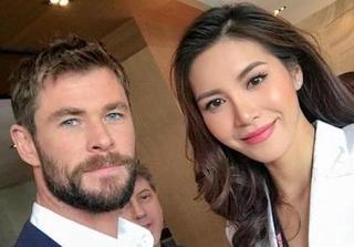 Người mẫu Minh Tú xinh đẹp như nữ thần tại Úc bên các sao Hollywood
