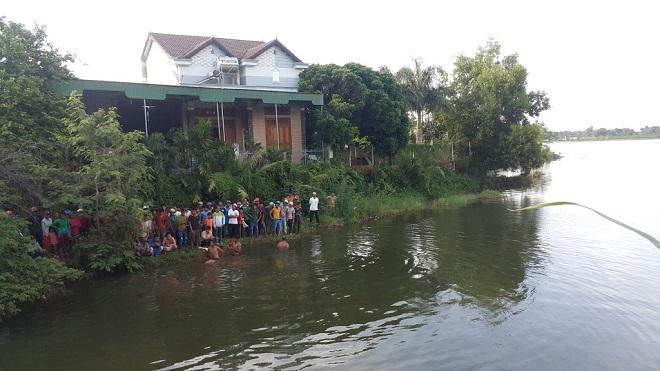 5 nam sinh đuối nước thương tâm ở Hà Nội do rủ nhau đi câu cá