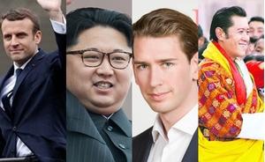 Những nguyên thủ quốc gia tuổi trẻ tài cao nhất thế giới