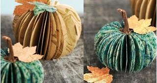 Cách làm quả bí ngô Halloween đang đến gần