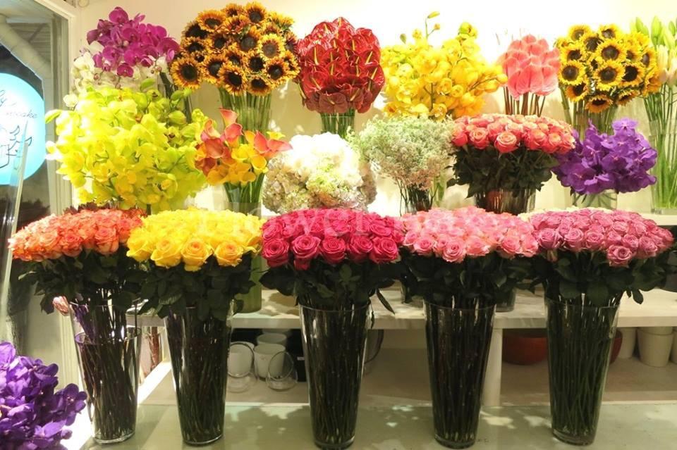 quà tặng 20/10 độc đáo với hoa tươi
