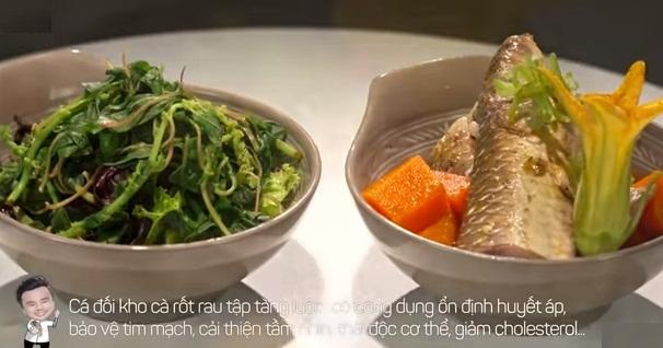Mỹ nhân vào bếp, món cá đối kho cà rốt vô cùng tốn cơm1