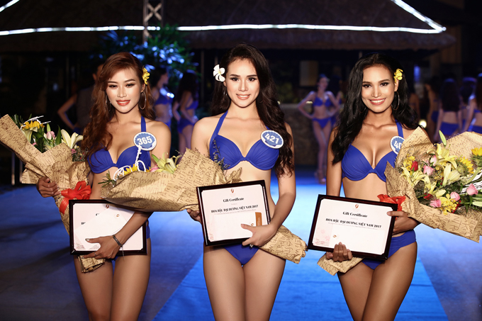 Hai cô gái Ê đê tại Hoa hậu Hoàn vũ Việt Nam 2017 và Hoa hậu Đại dương 2017 diễn ra vào tháng 10/2017 - H'Ăng Niê đoạt giải