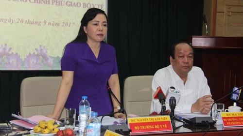 Bộ trưởng Bộ Y tế lên tiếng vụ bác sĩ bị tấn công