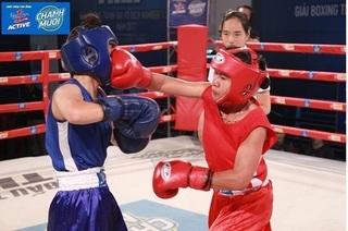 Những trận bán kết kịch tính ở giải Boxing tranh đai vô địch Number 1