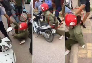 Bắc Ninh: Nghi bắt cóc, người phụ nữ bị hành hung ngay trên đường
