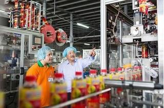 Tân Hiệp Phát đứng top 5 doanh nghiệp uy tín ngành thực phẩm - đồ uống 2017